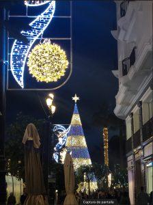 Las luces de Navidad inundan las calles de Sevilla desde finales de noviembre