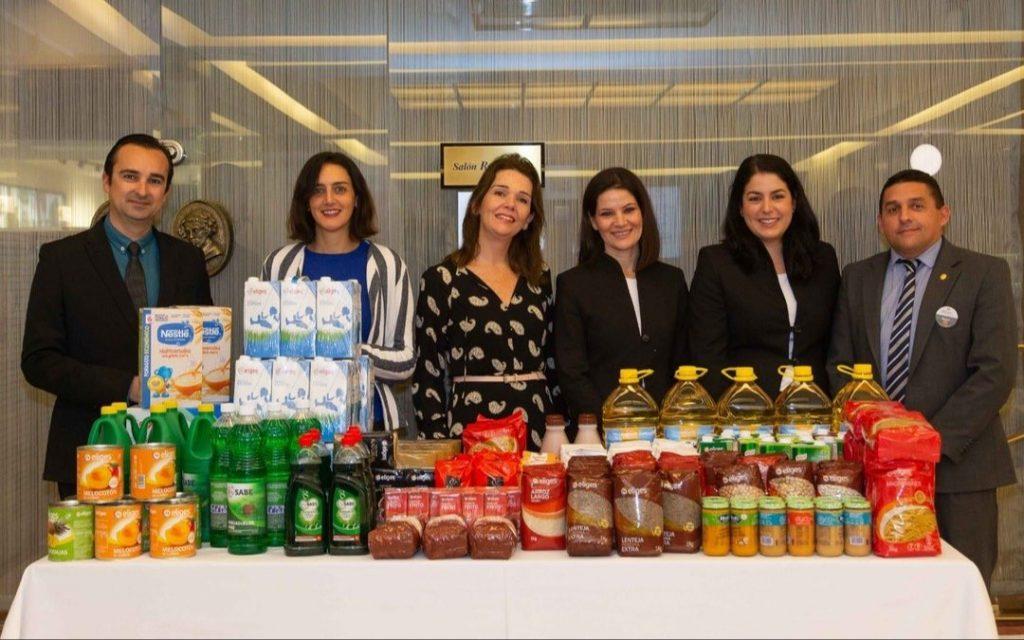 El Hotel Bécquer hizo entrega de su donación al Banco de Alimentos de Sevilla